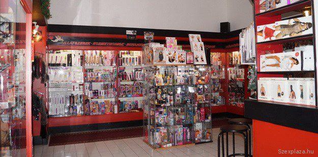 A szexbolt webáruházának árujai azonnal megvásárolhatók az üzletben