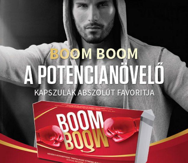 A Boom Boom potencianövelő vezeti az eladási listát, a legtöbben ezt rendelik vagy vásárolják a Bp. Károly krt. 14. sz. alatt szexboltban